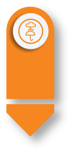 Orange Rain Arrow - NorthSmartIT - IT Hardware Maintenance